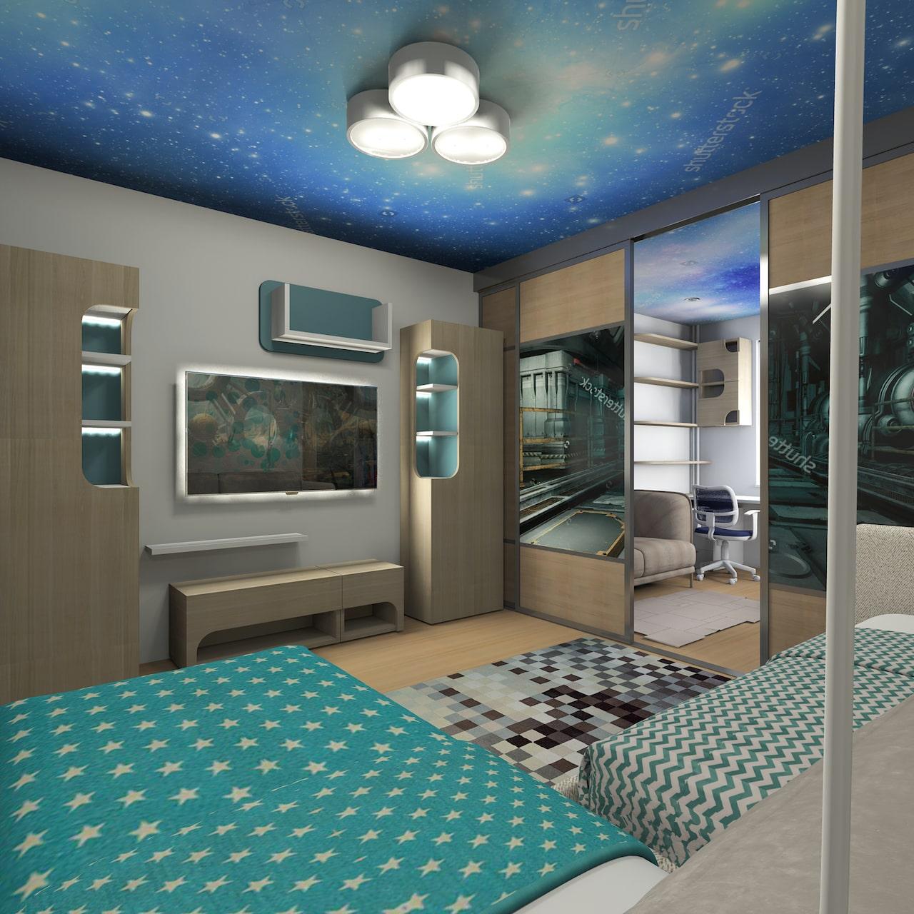 детская комната для мальчика фото 39