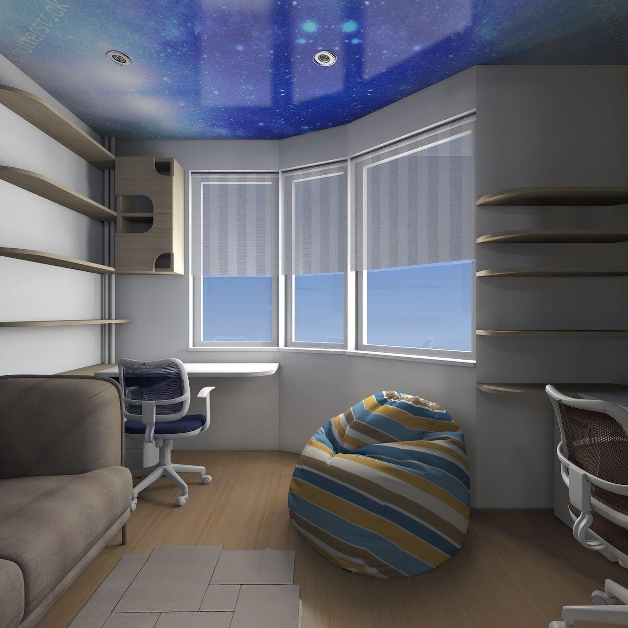 детская комната для мальчика фото 42