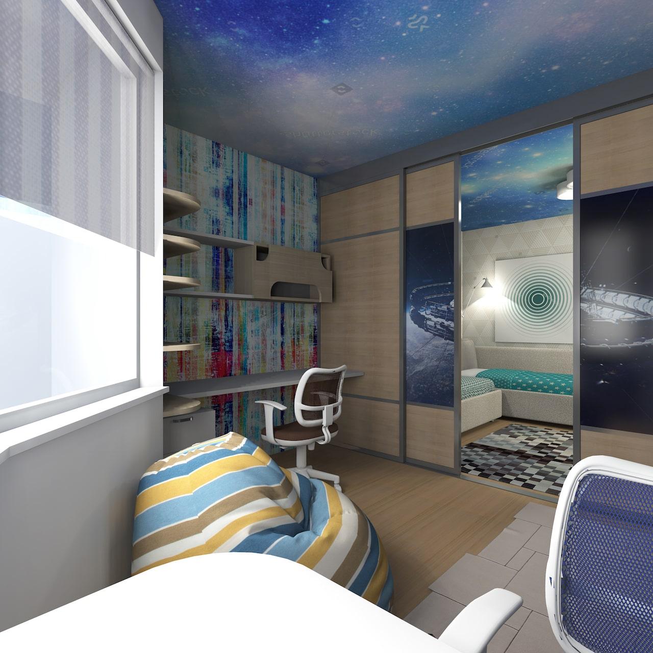детская комната для мальчика фото 43