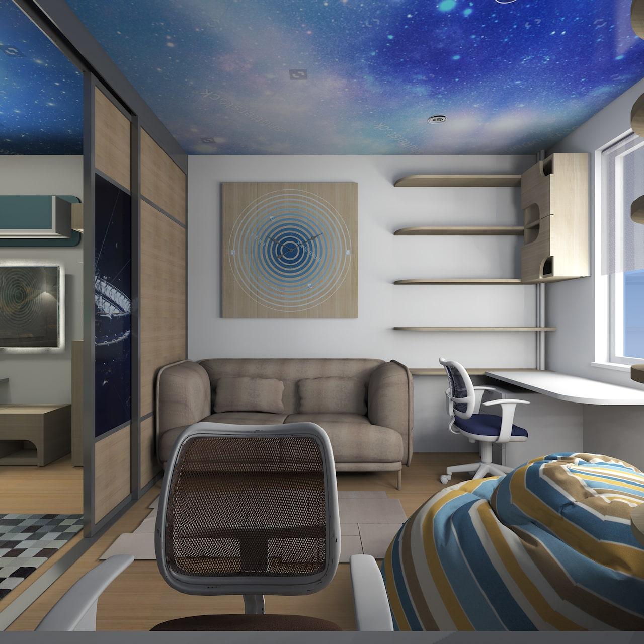 детская комната для мальчика фото 44