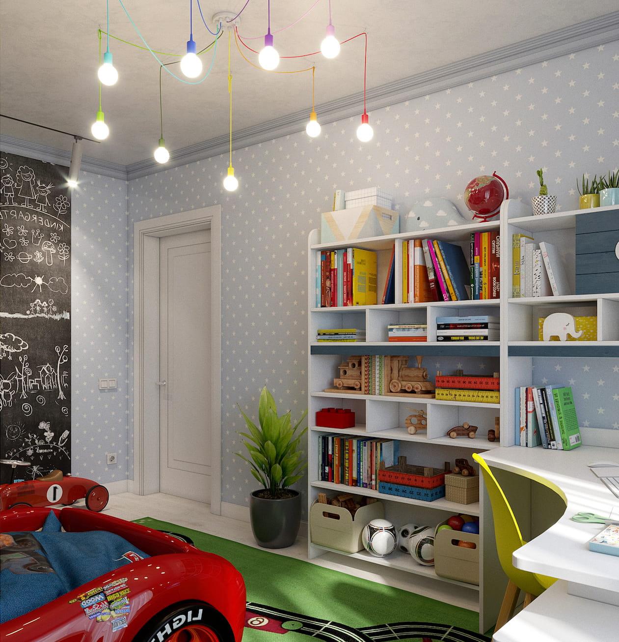 детская комната для мальчика фото 55