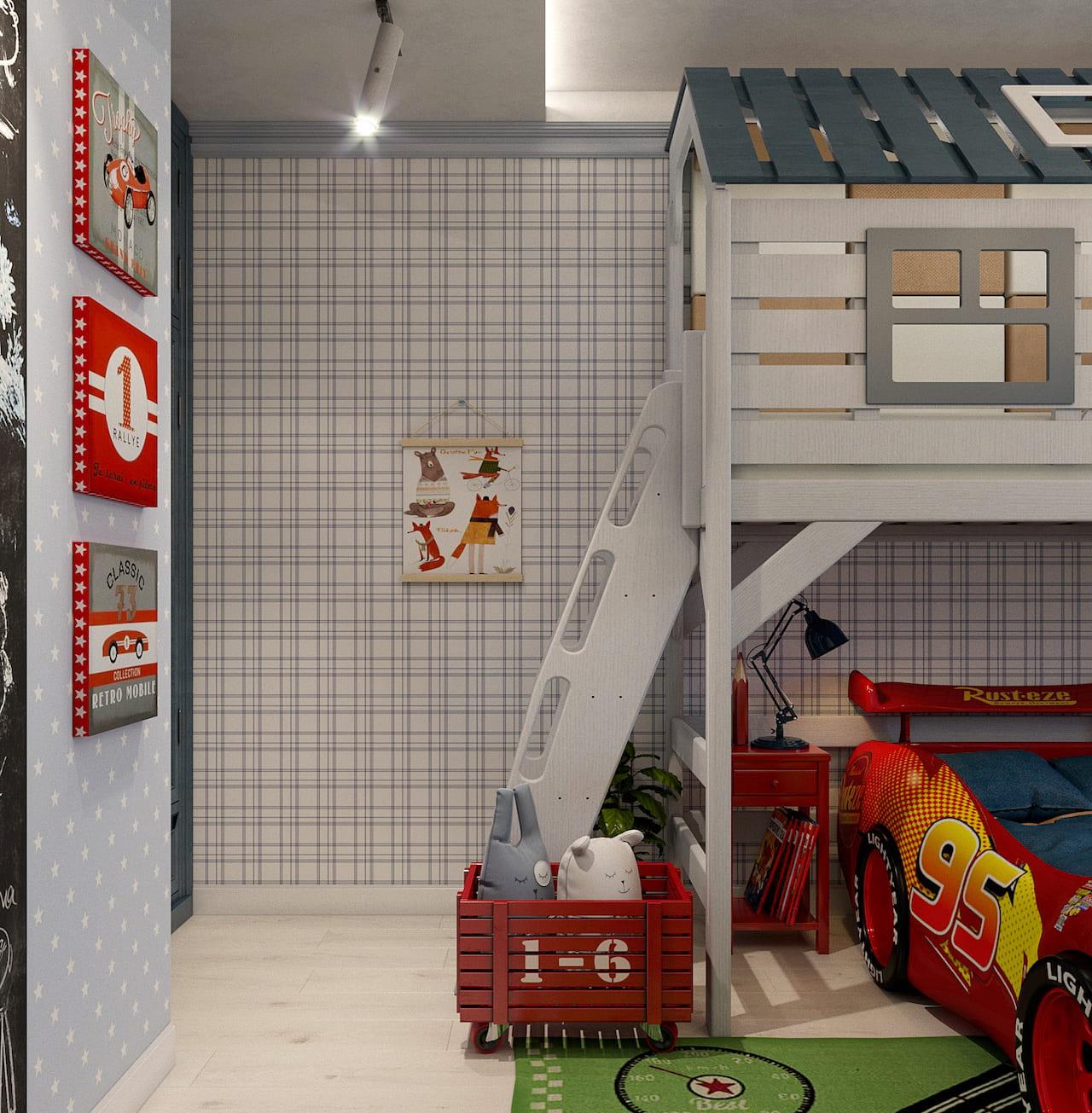 детская комната для мальчика фото 56