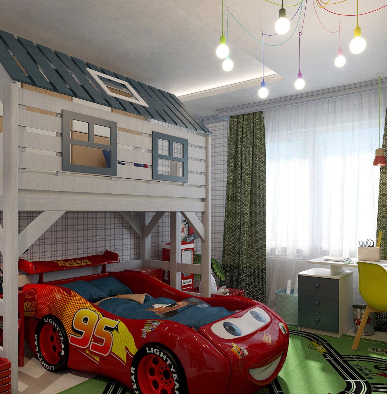 детская комната для мальчика фото 57
