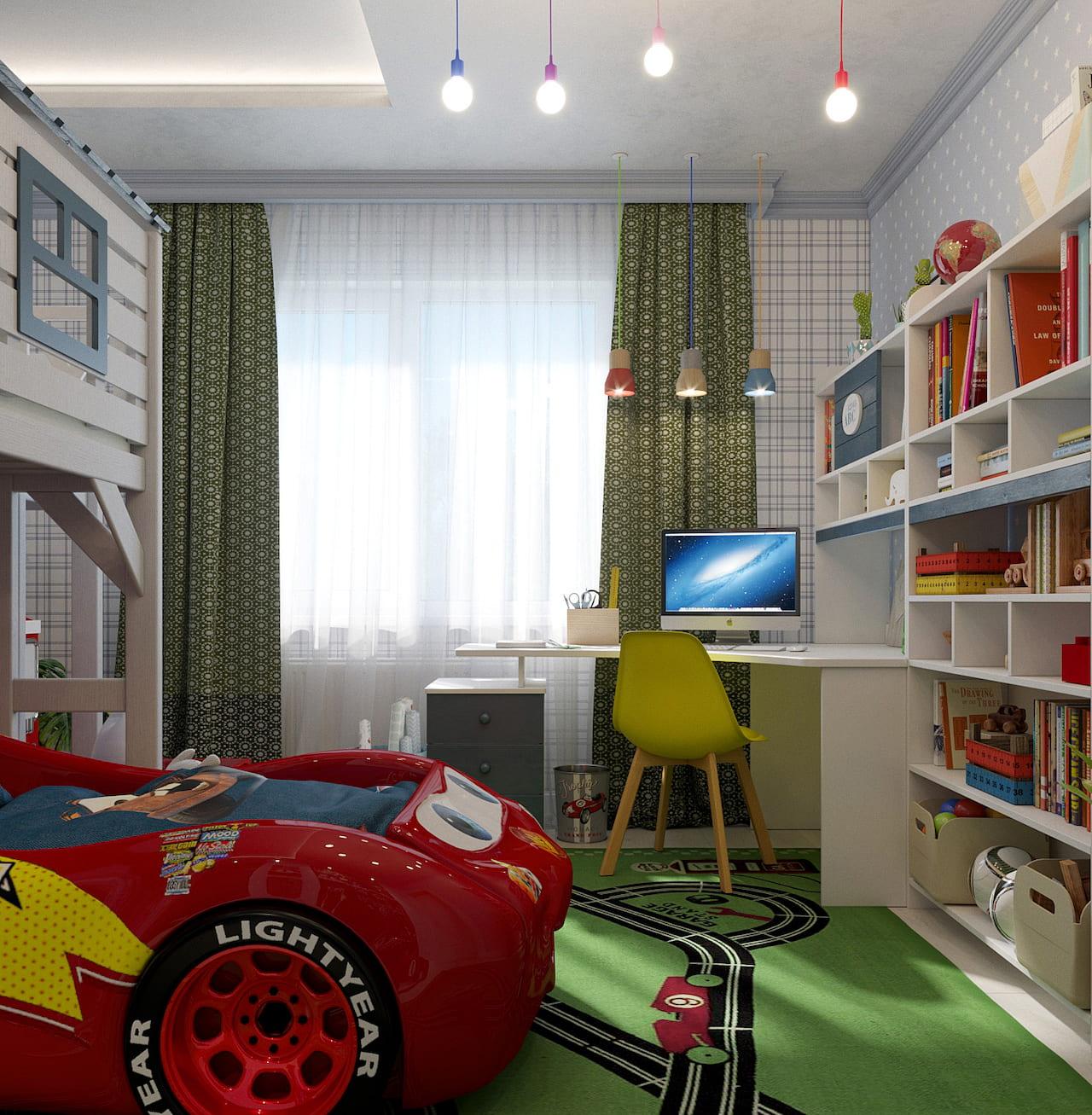 детская комната для мальчика фото 70