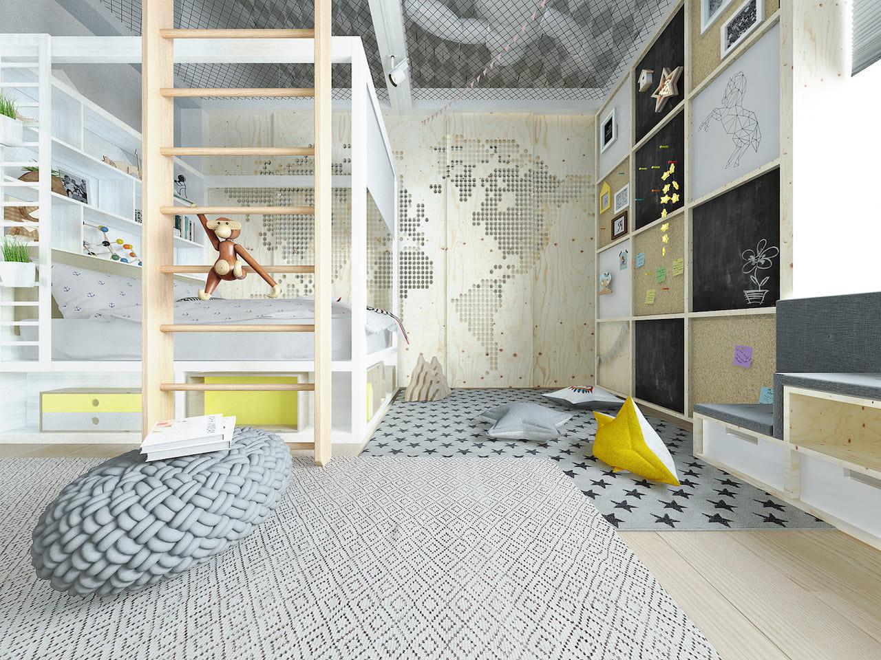детская комната для мальчика фото 21