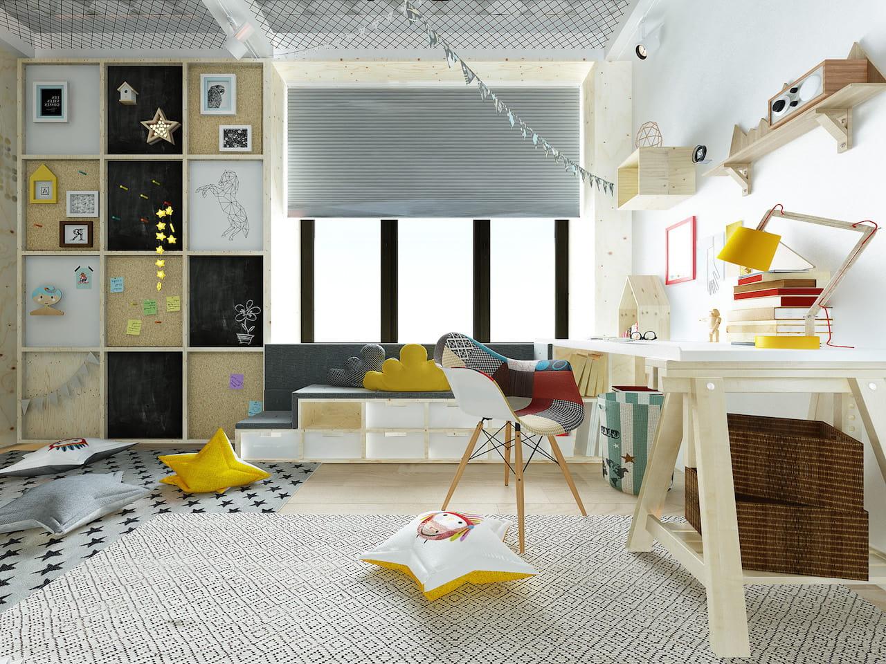 детская комната для мальчика фото 23