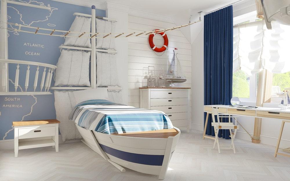 детская комната для мальчика фото 30