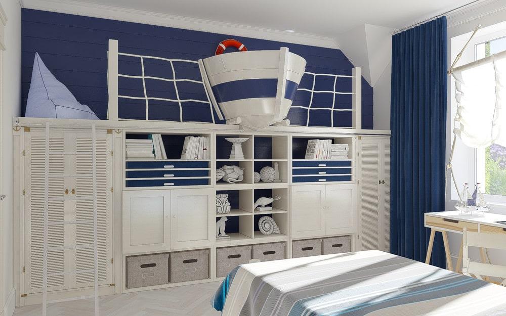 детская комната для мальчика фото 32