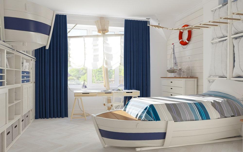 детская комната для мальчика фото 33