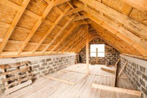 Мансардная крыша дома как сделать