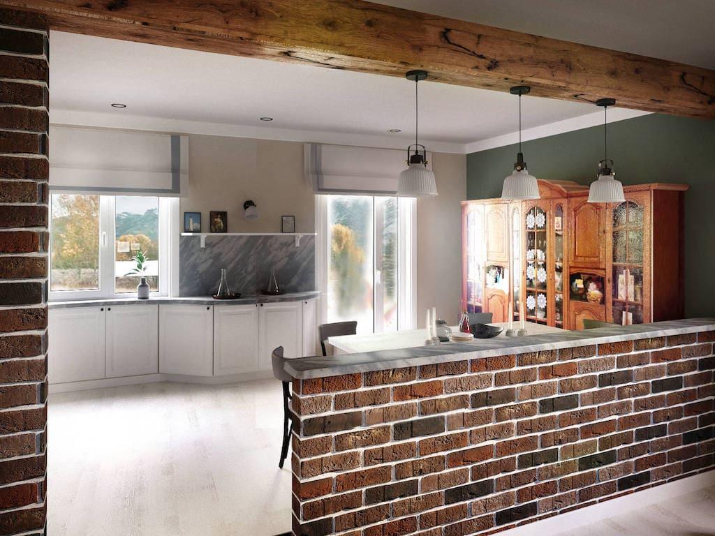 барная стойка на кухне фото 14