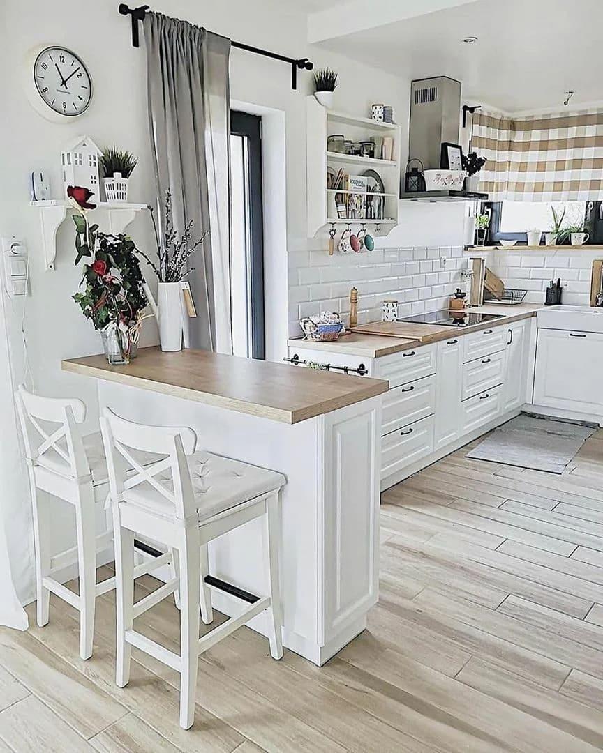 барная стойка на кухне фото 17