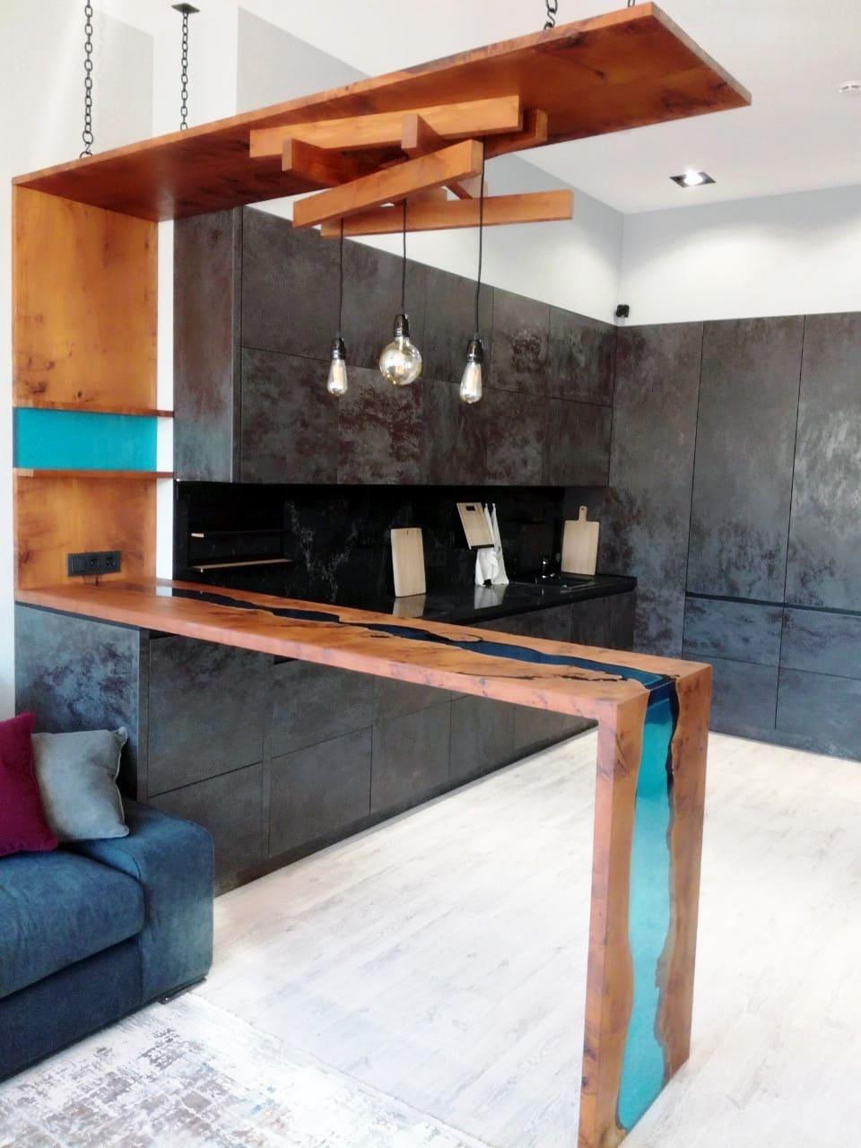 барная стойка на кухне фото 21