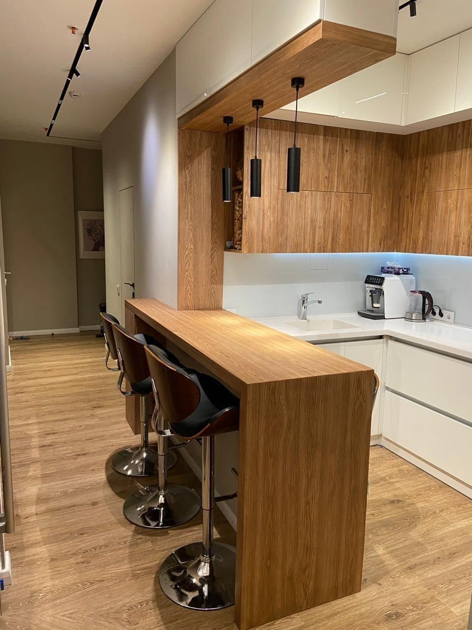 барная стойка на кухне фото 22