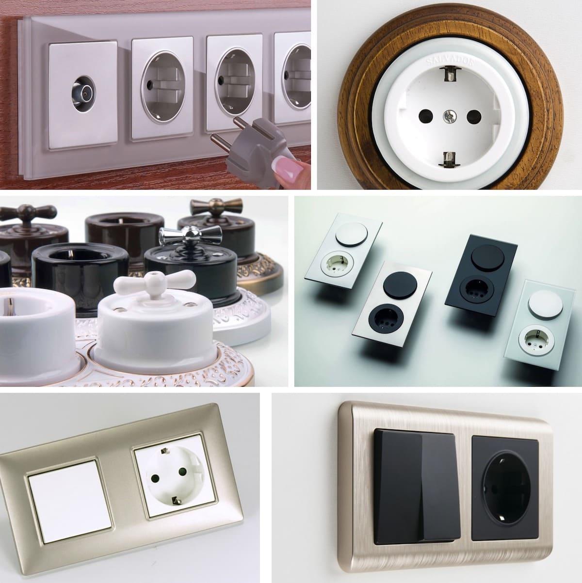 Виды и типы электрических розеток для домашнего использования