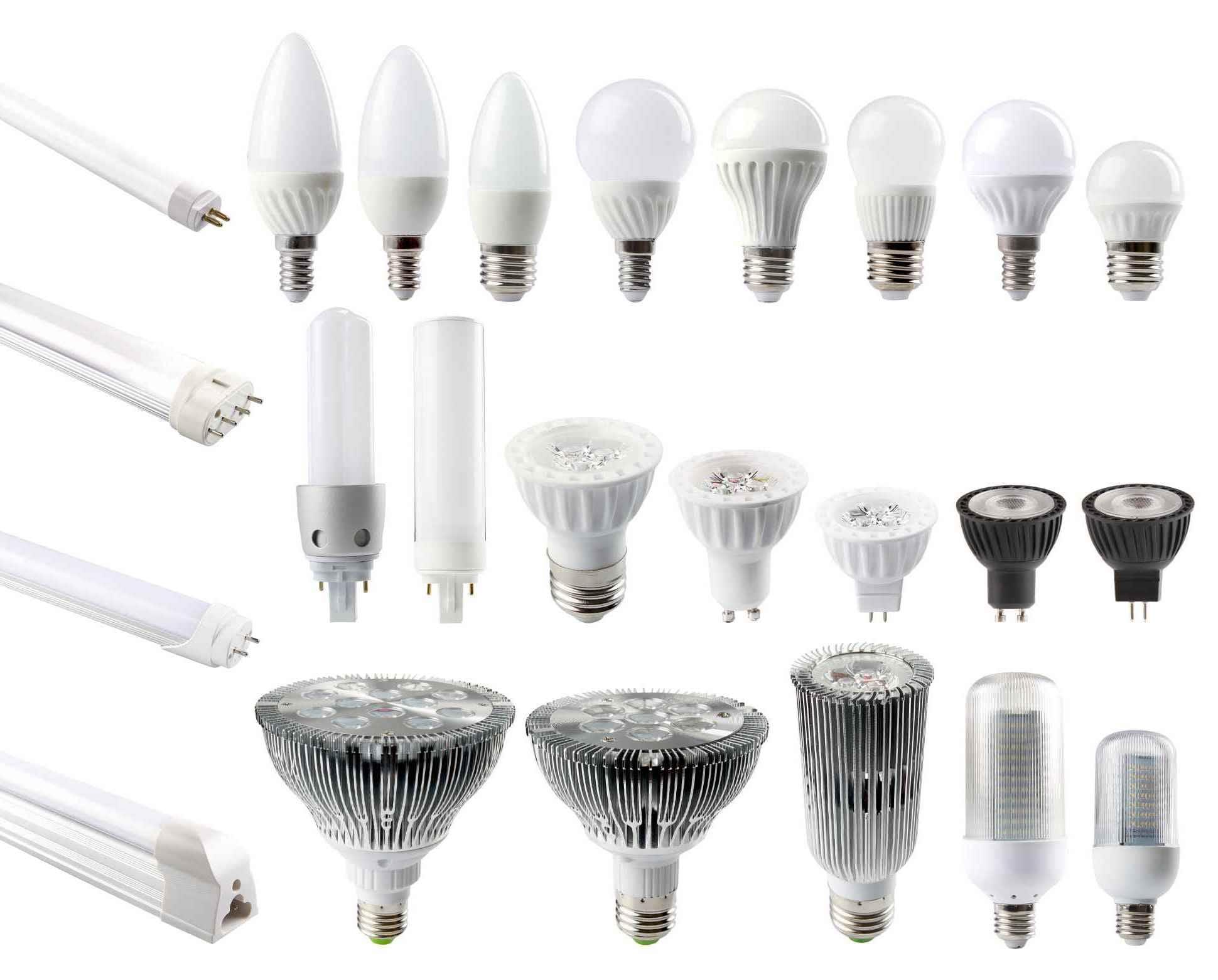 Большой выбор светодиодных ламп позволяет без труда подобрать их под конкретный светильник