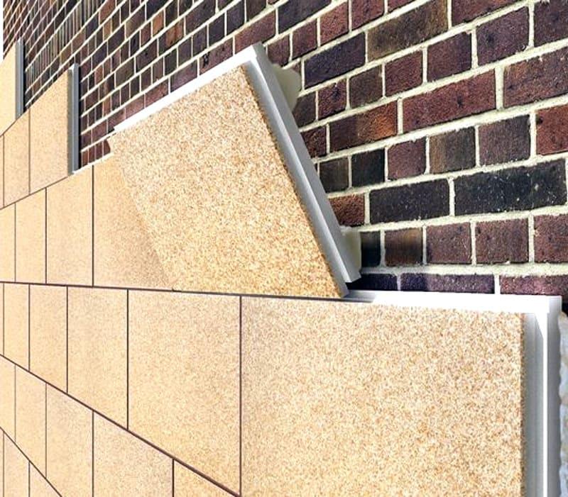 Монтаж фасадных термопанелей осуществляется достаточно просто