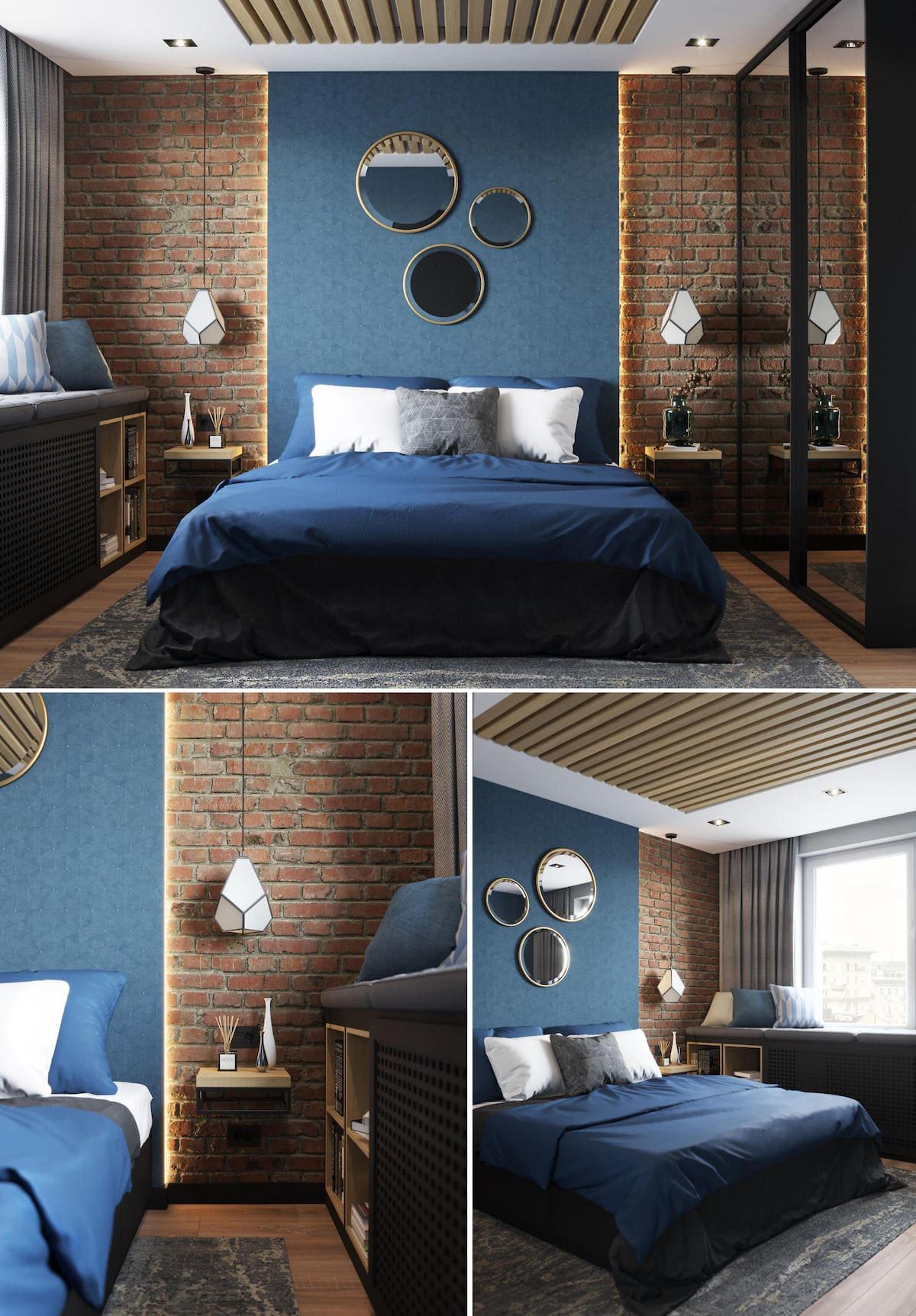 модный интерьер спальни фото 26