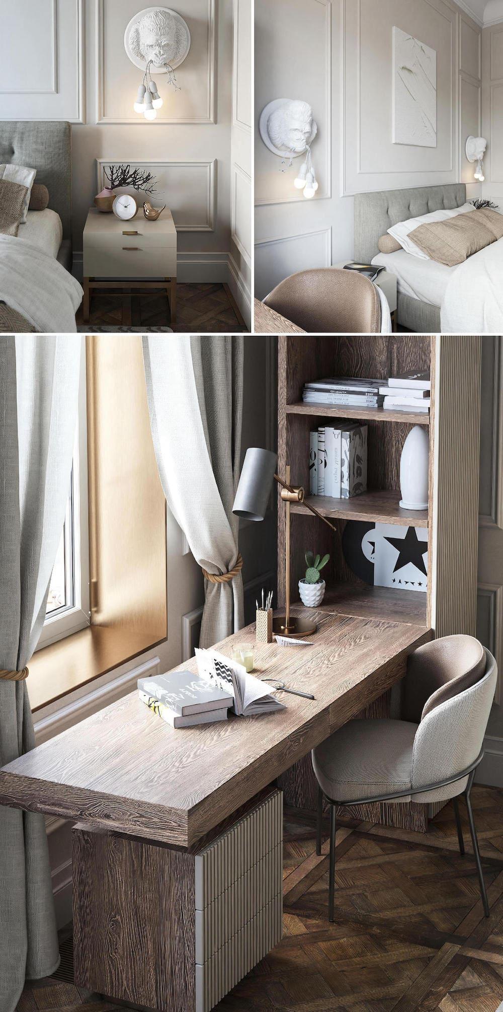 модный интерьер спальни фото 10