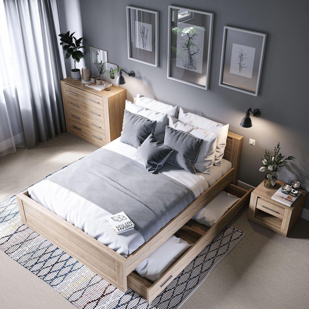 модный интерьер спальни фото 29
