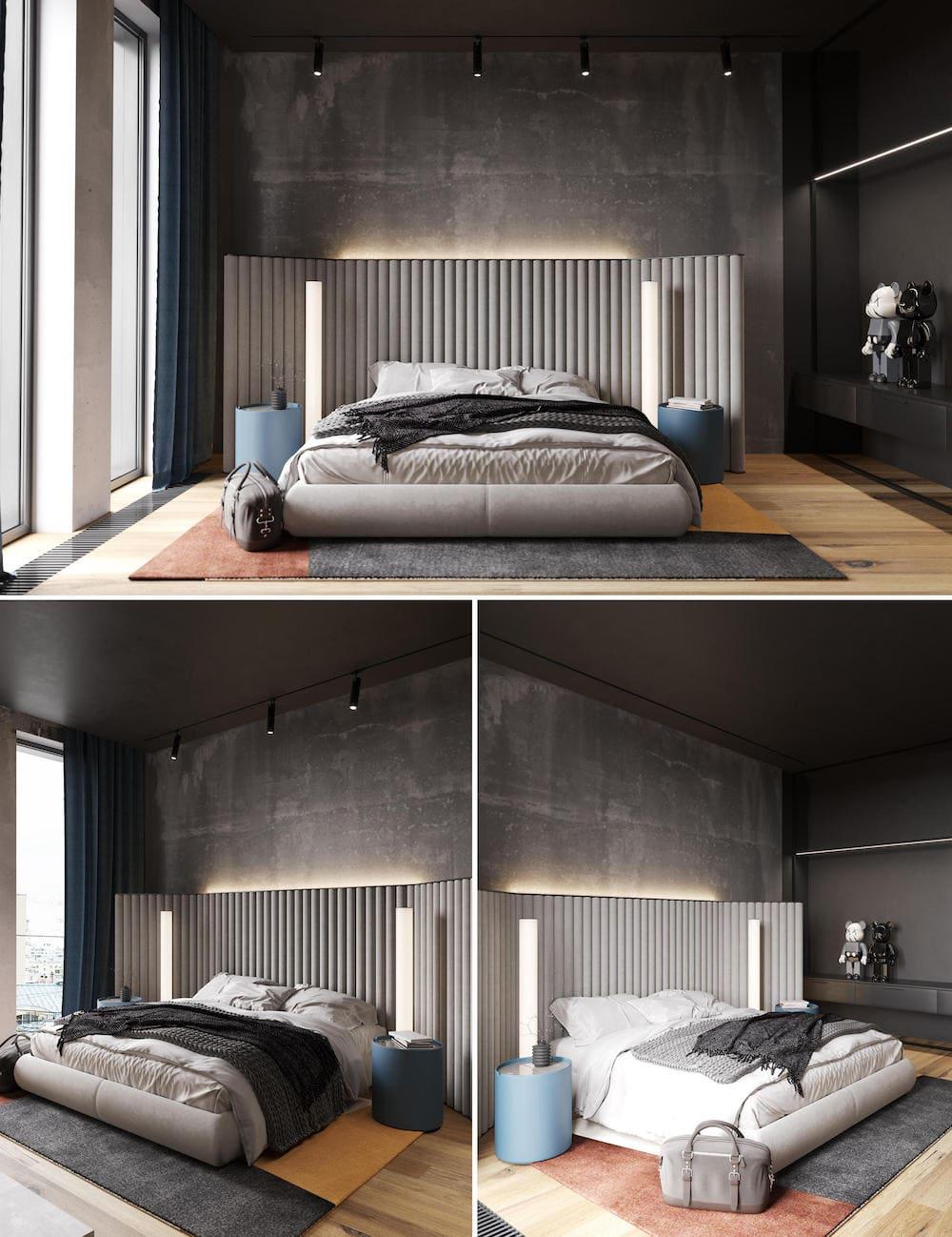 модный интерьер спальни фото 21