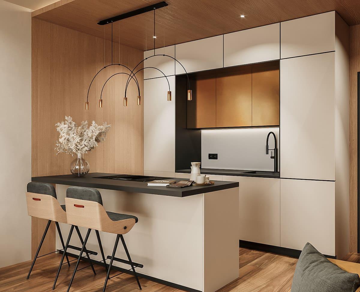 модный дизайн кухни 29