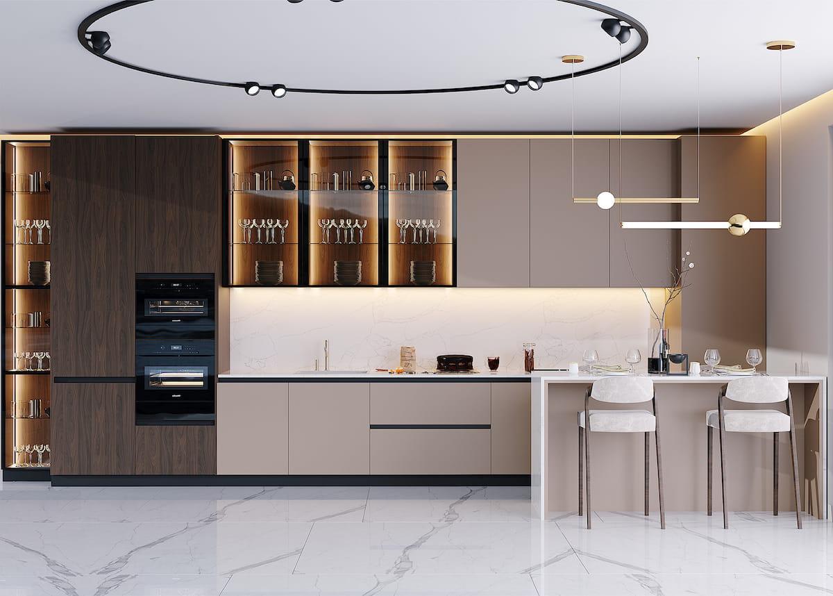 модный дизайн кухни 31