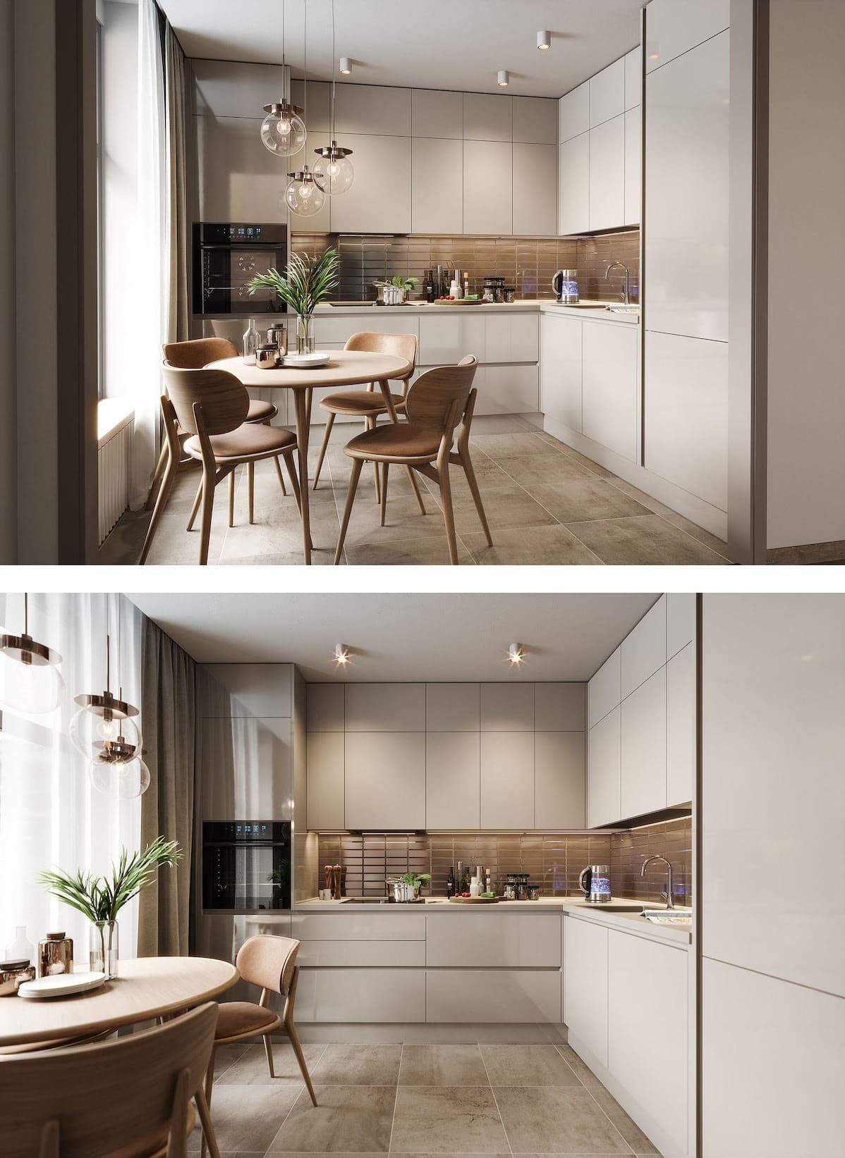 модный дизайн кухни 6