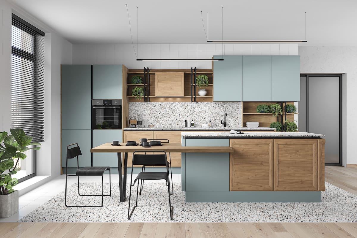 модный дизайн кухни 14
