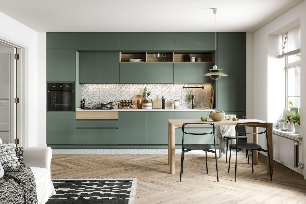 модный дизайн кухни 44