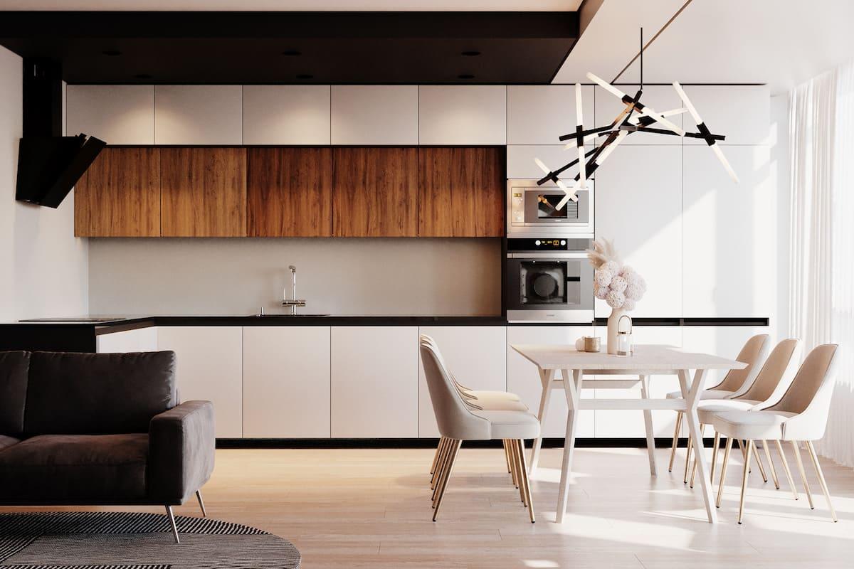 модный дизайн кухни 38