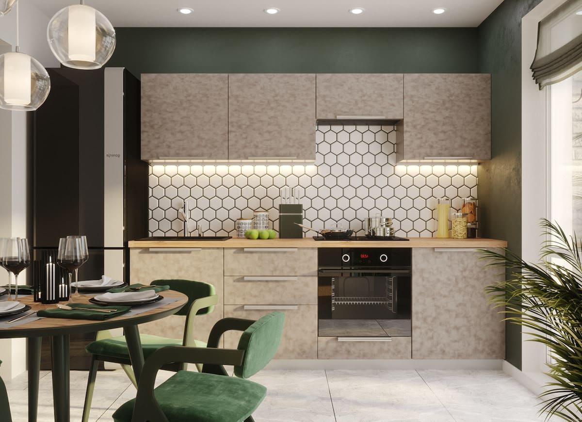 модный дизайн кухни 2