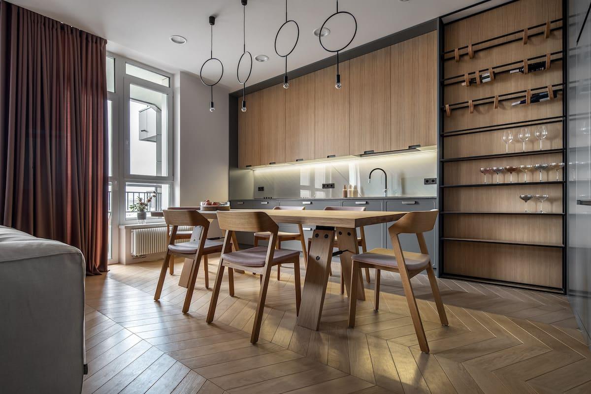 модный дизайн кухни 39