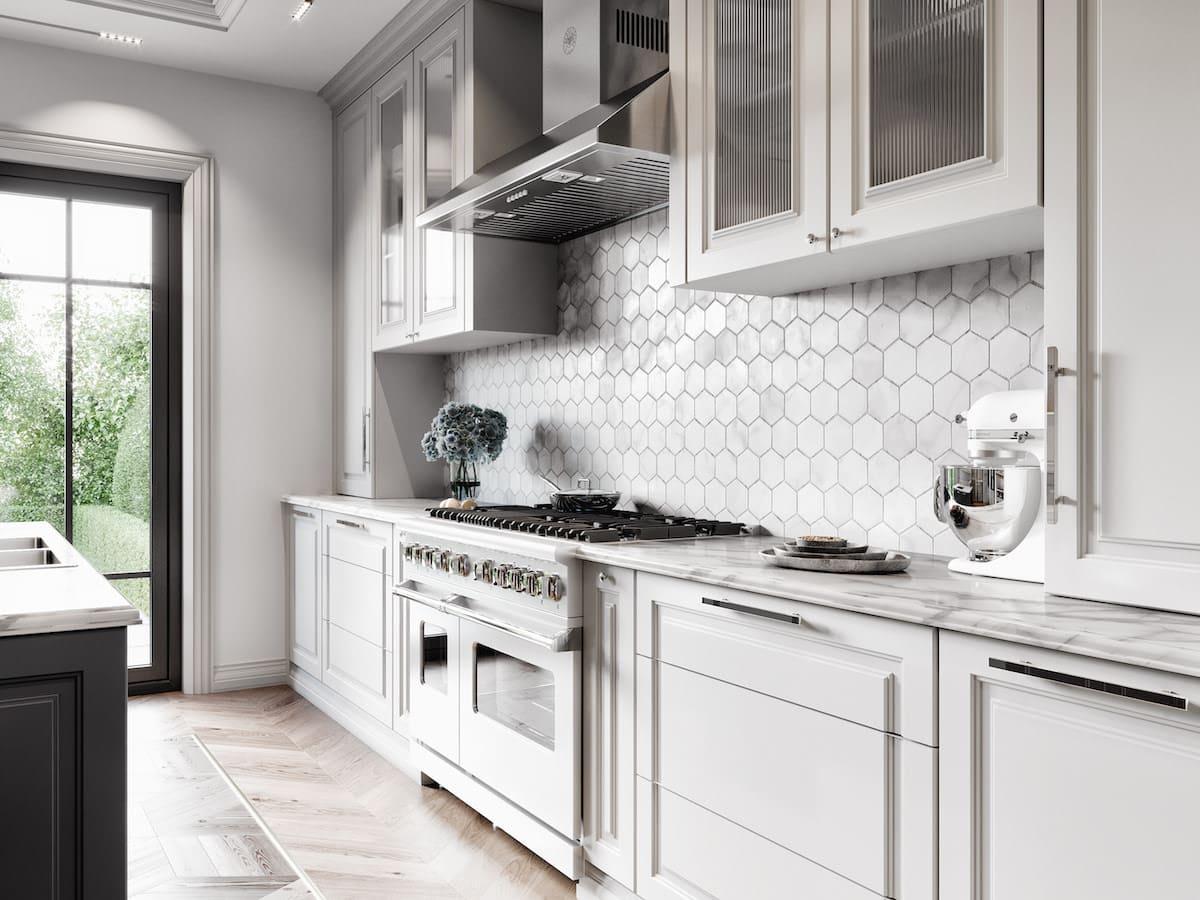 модный дизайн кухни 16