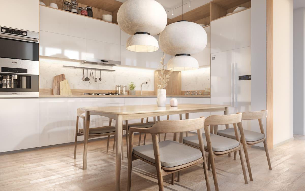 модный дизайн кухни 35