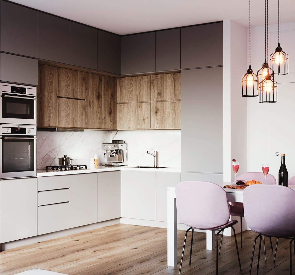 модный дизайн кухни 10