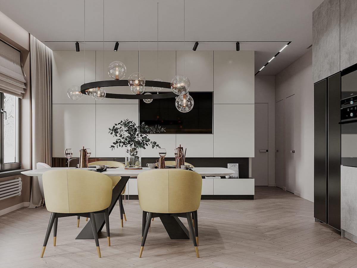 модный дизайн кухни 20