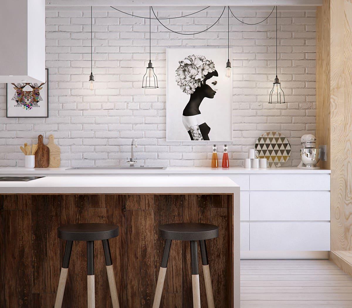 модный дизайн кухни 30
