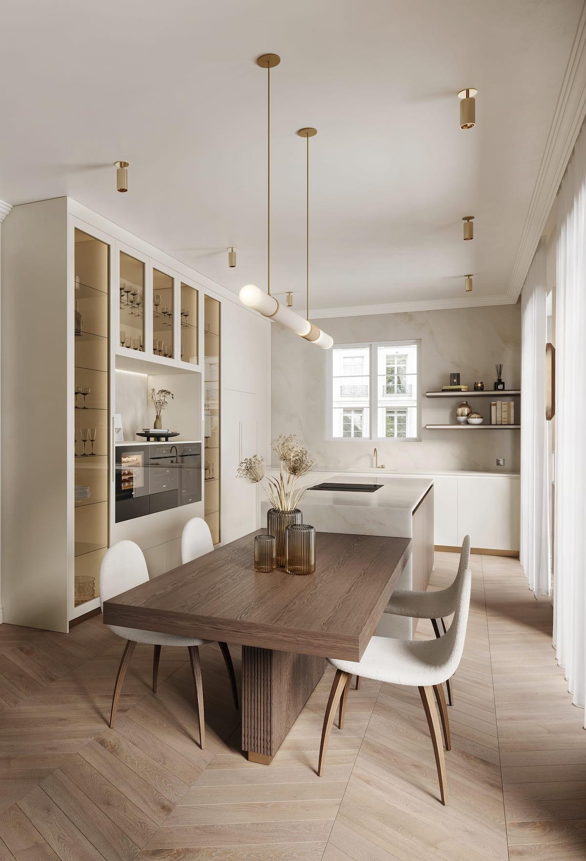 модный дизайн кухни 41