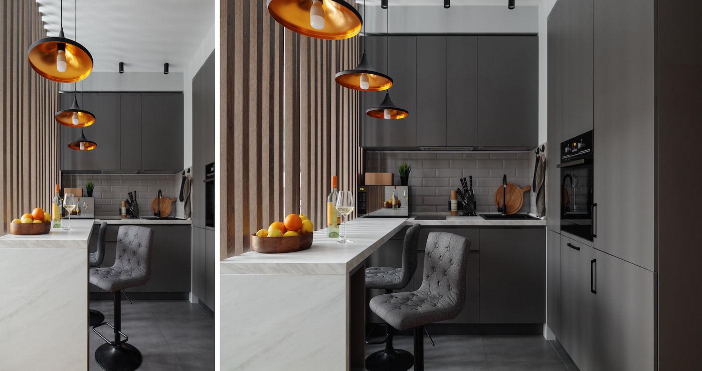 модный дизайн кухни 34