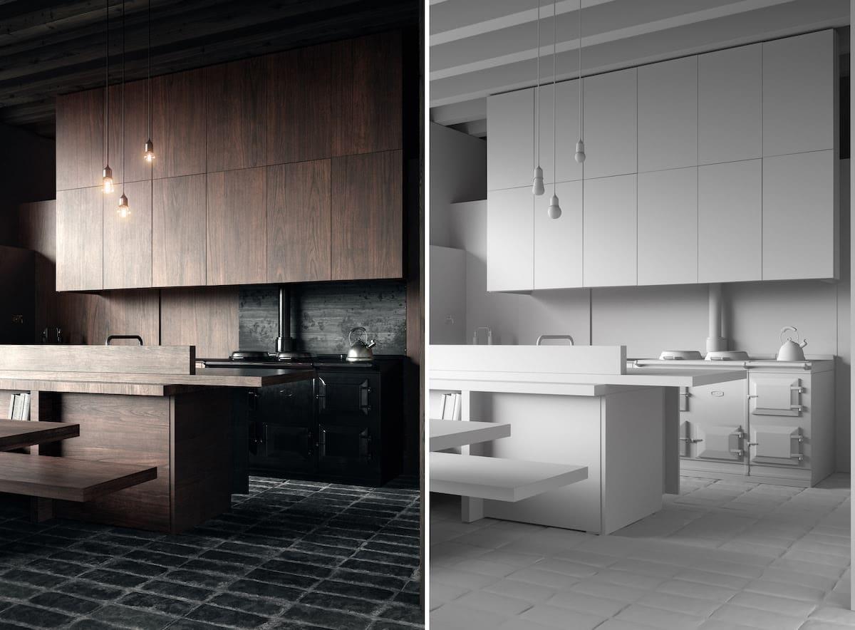 модный дизайн кухни 7