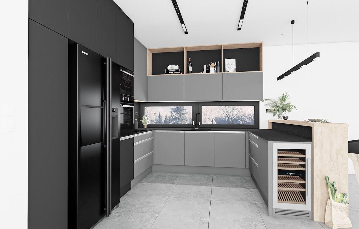 модный дизайн кухни 26