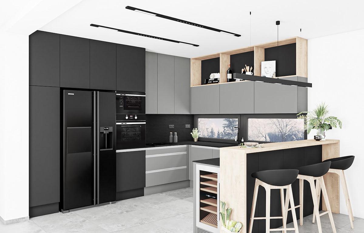 модный дизайн кухни 24