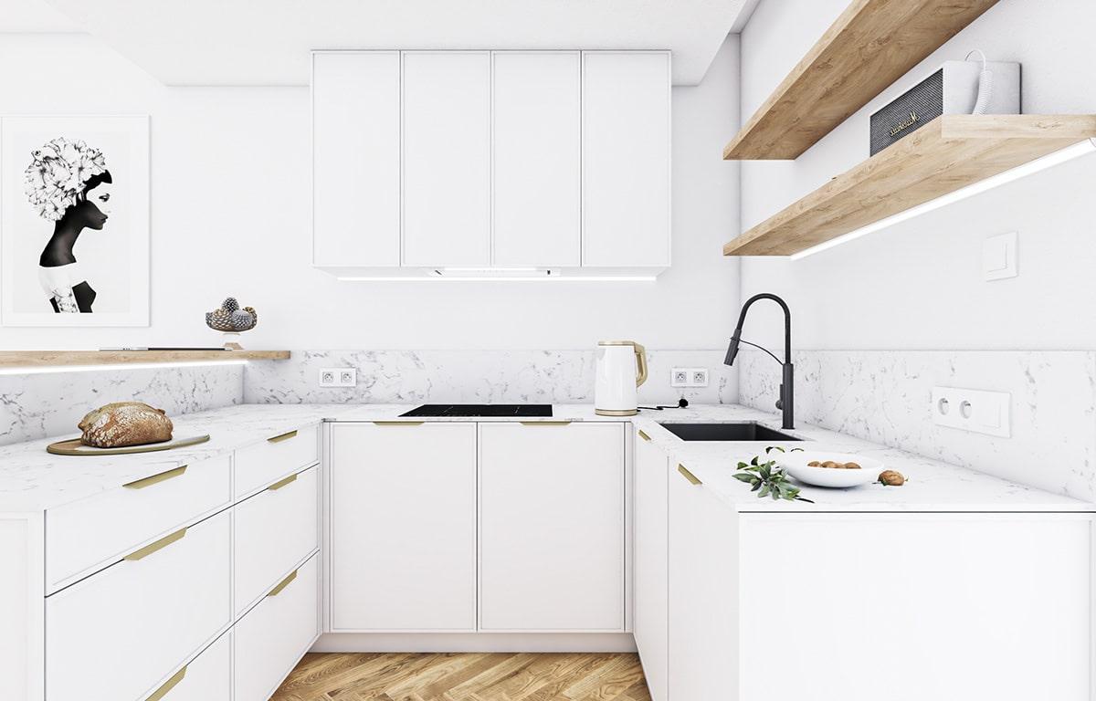 модный дизайн кухни 23