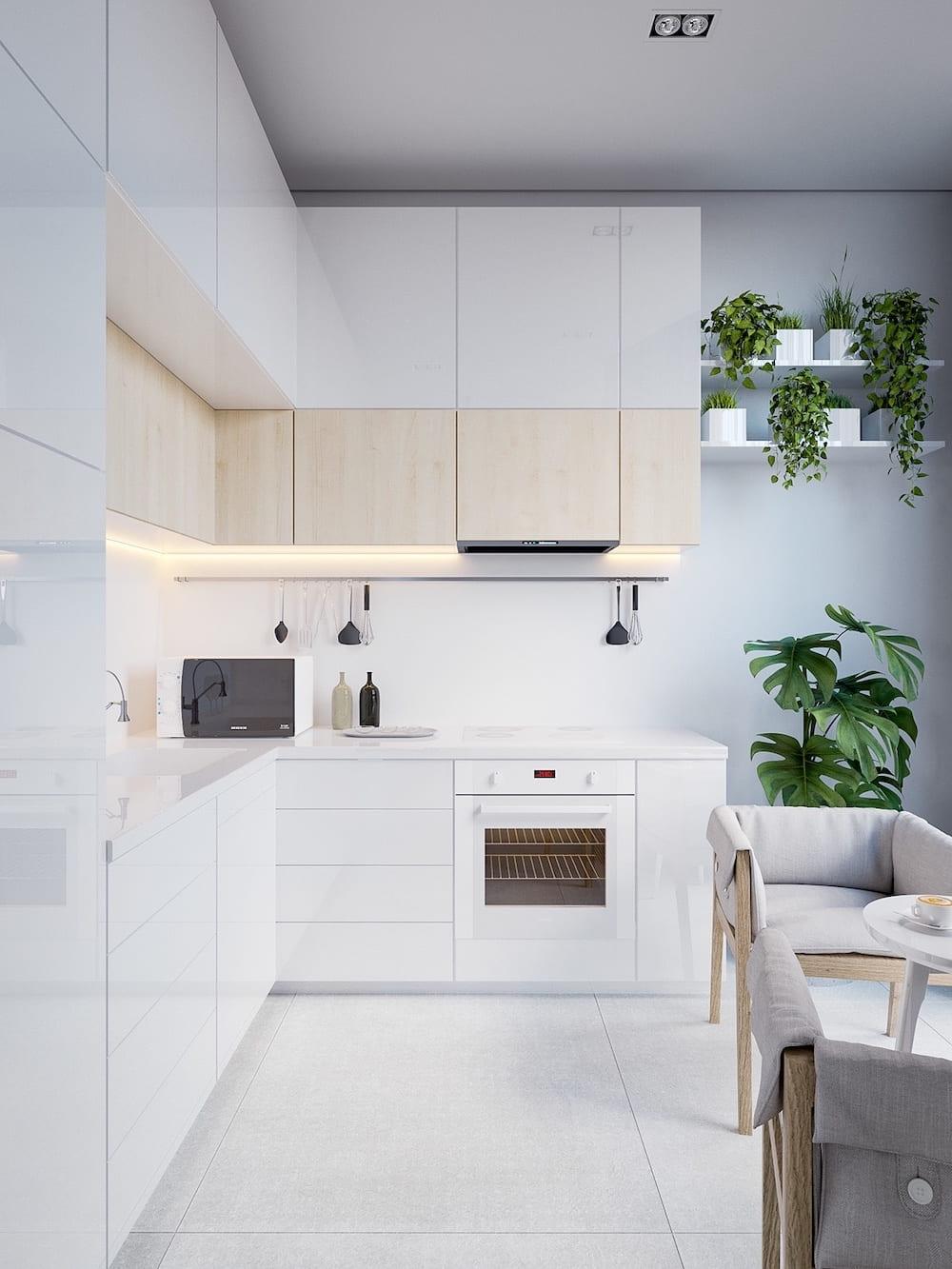 модный дизайн кухни 42