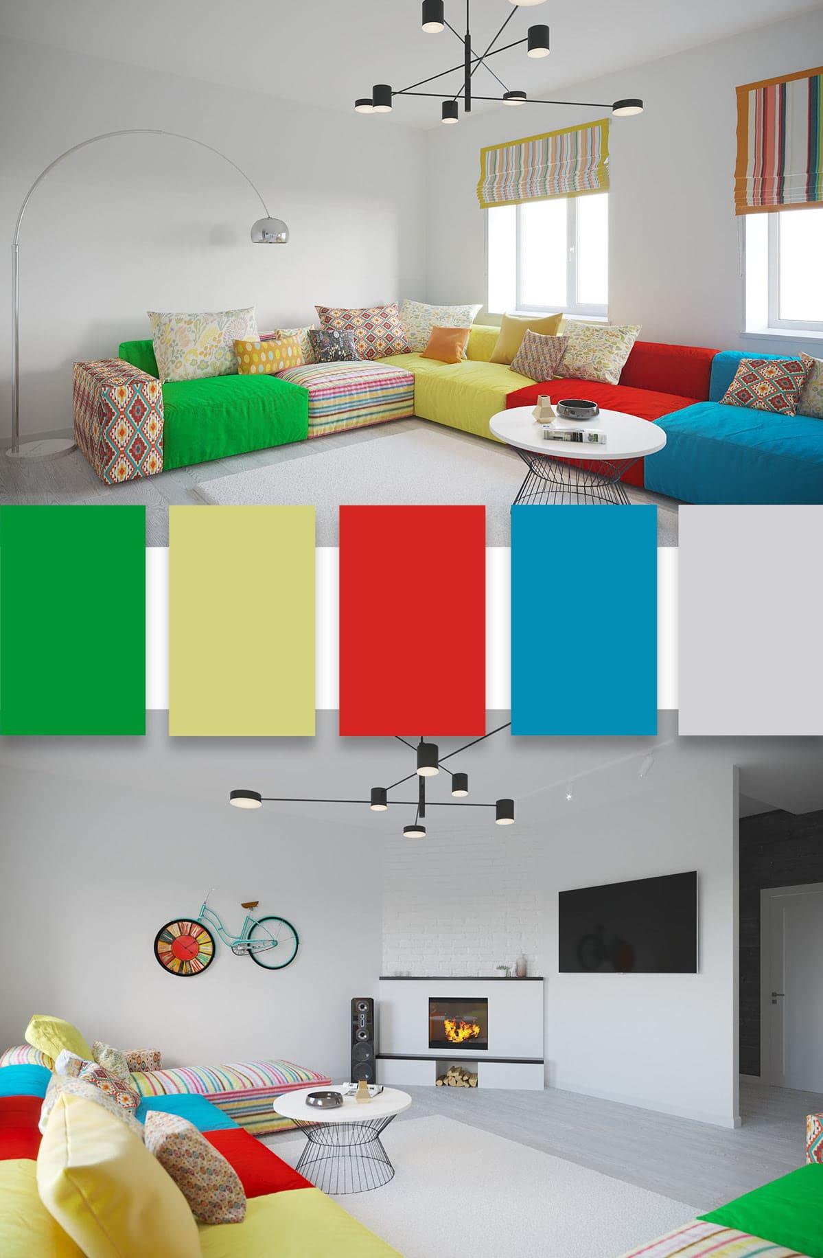 гостиная идеи дизайна 3