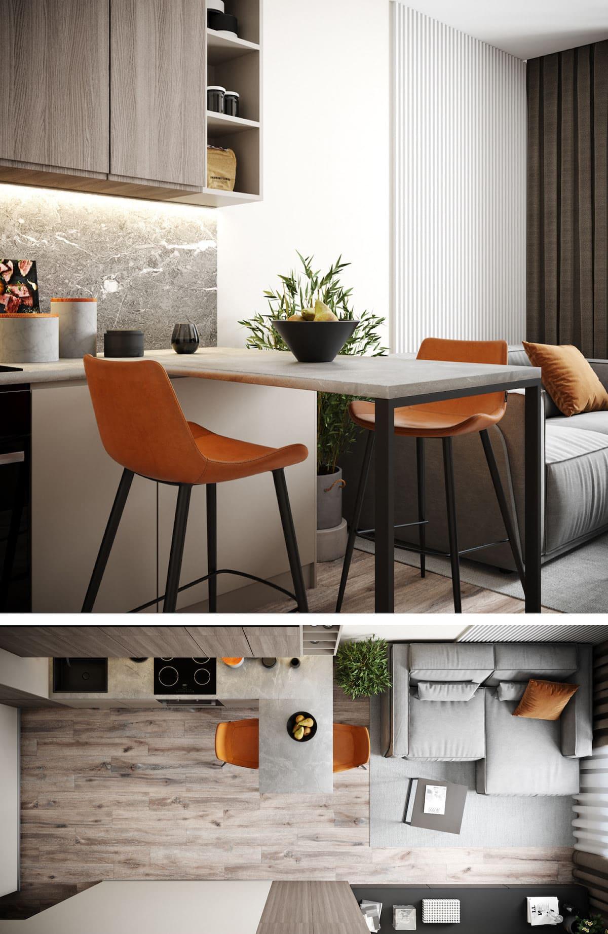 гостиная идеи дизайна 31