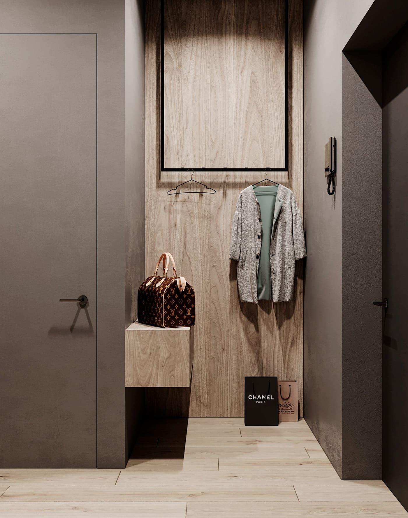 Комфорт в прихожей складывается из мелочей, оформление стен – одна из них