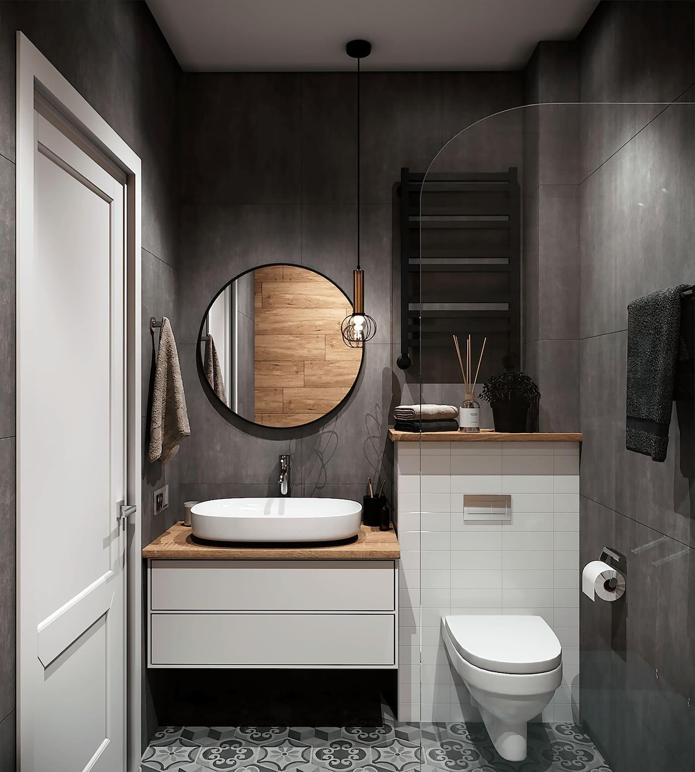 дизайн однокомнатной квартиры фото 28