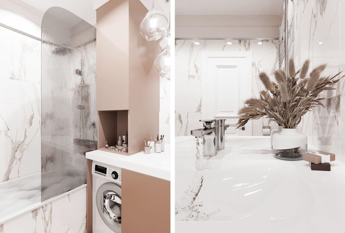 дизайн однокомнатной квартиры фото 33